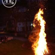 Traditionelle Hexenfeuer des Vereins
