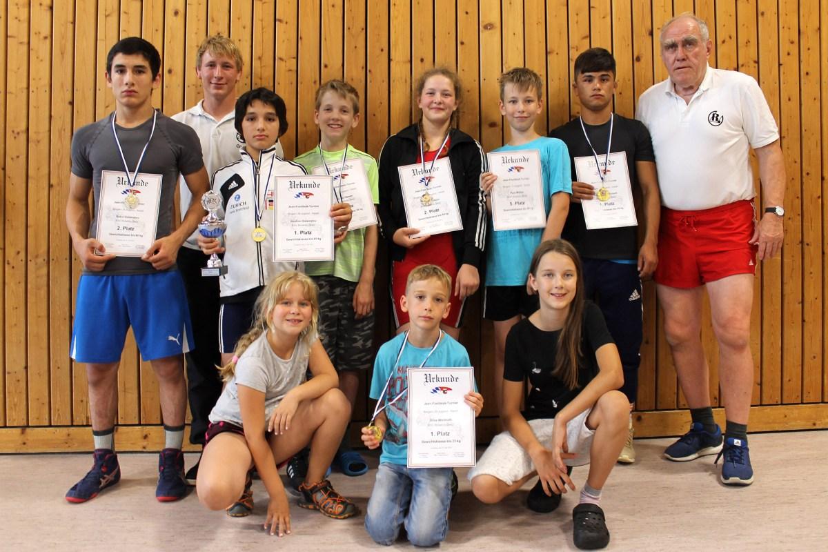 RSV Rotation Greiz: Sechs Medaillen zum Saisonabschluss in Bayern
