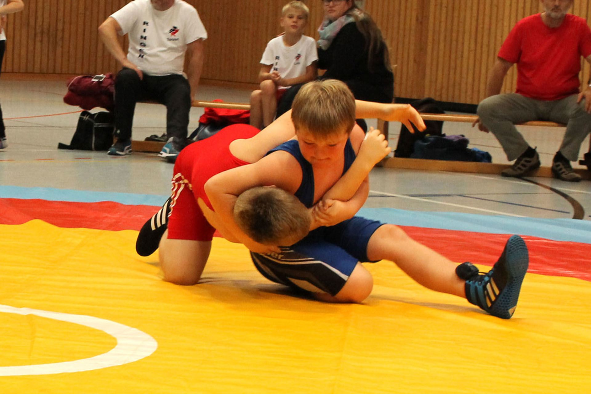Greizer Ringerjugend bei Verbandsjugendspielen auf erstem Platz