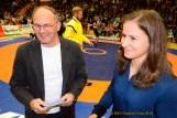 Hartmut Reich und Anne Nürnberger (KSC Motor Jena/WM-Teilnehmerin)
