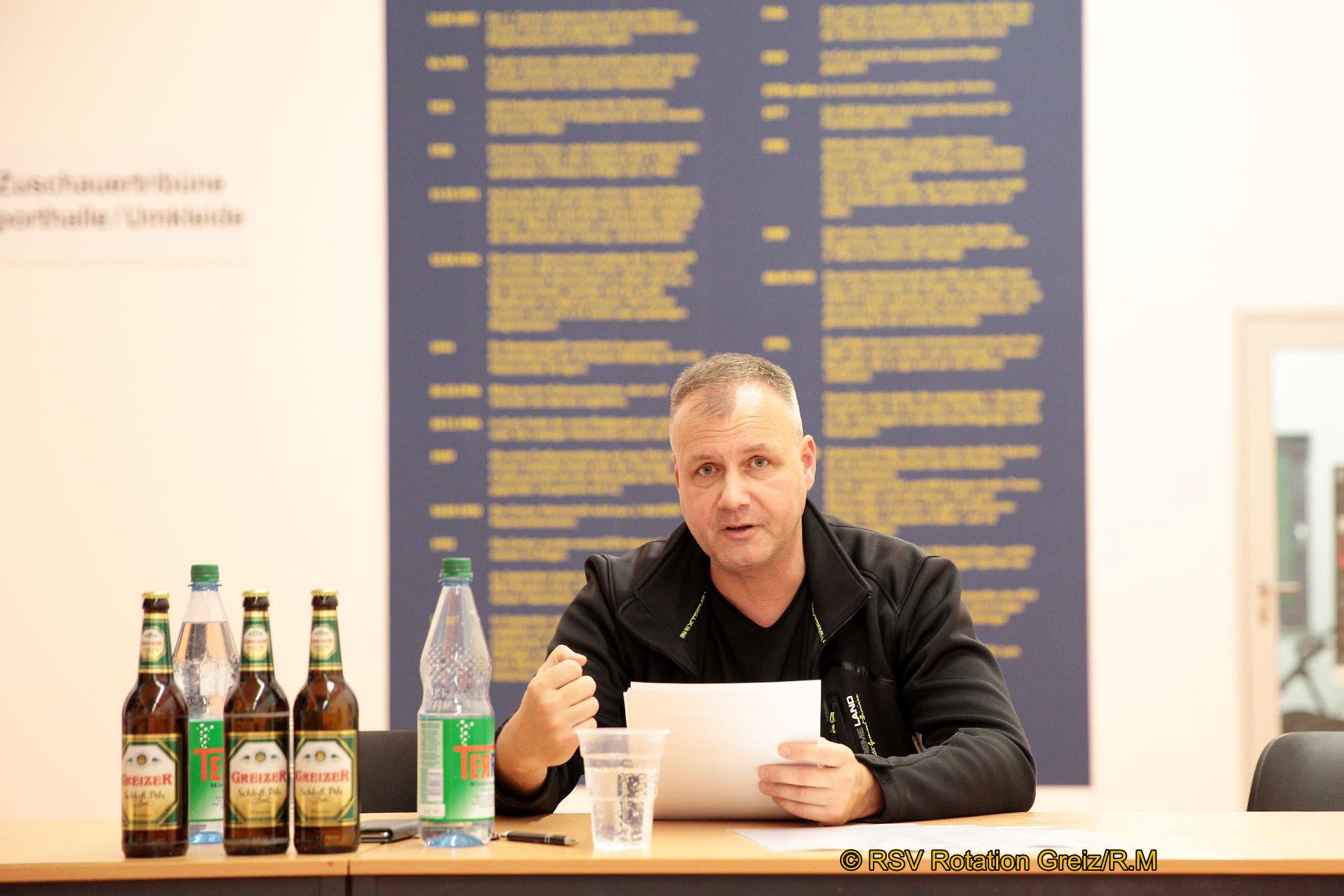 RSV Rotation Greiz wählte neuen Vorstand