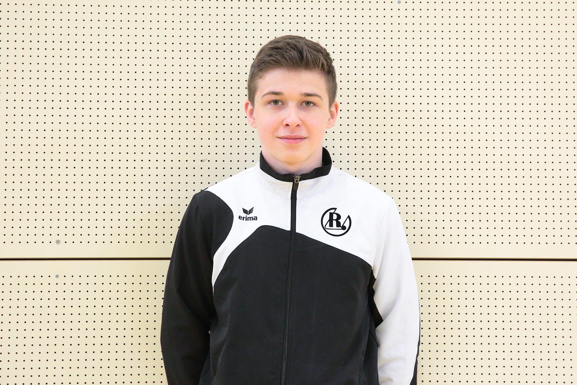 Jugendtrainer Maximilian Böttger