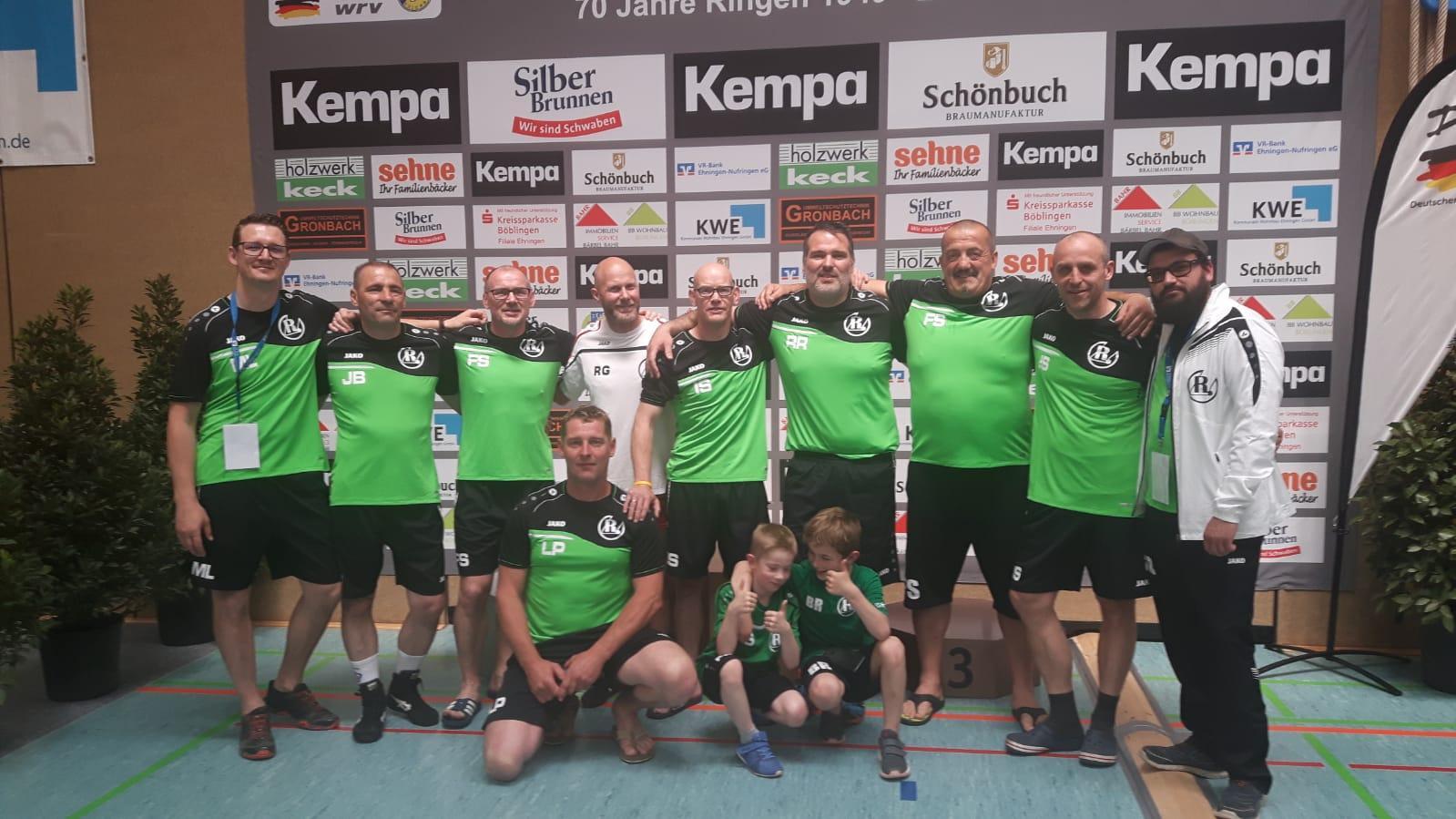 -Reloaded- Team freuen sich auf tolle Kämpfe bei den German Masters im Ringen.