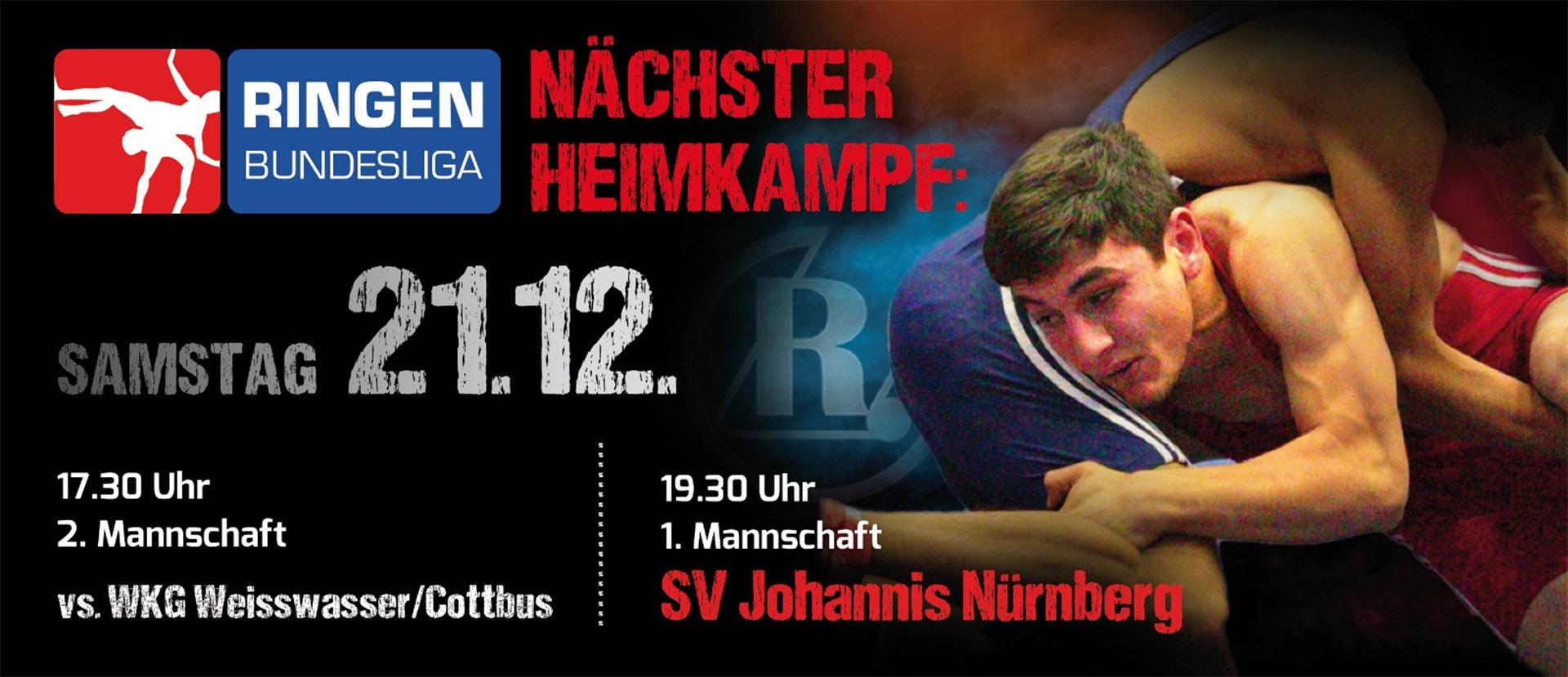 RSV Rotation Greiz gegen SV Johannis Nürnberg