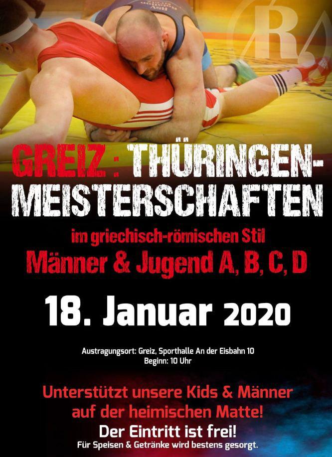 Offene Thüringer Meisterschaft Greco
