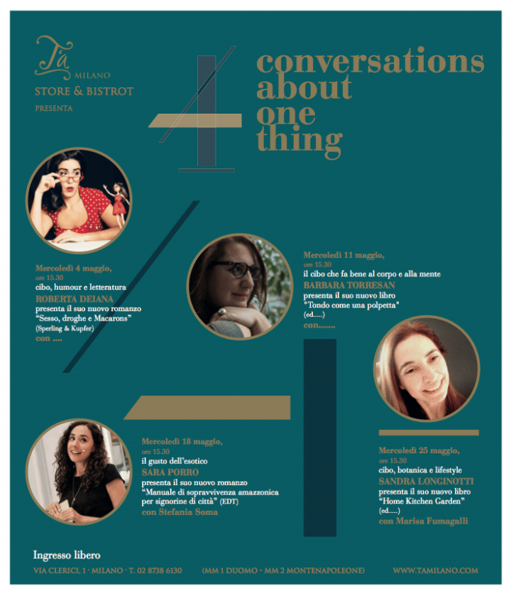 4 CONVERSATIONS ABOUT ONE THING