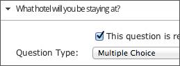 Digital RSVP Custom Questions