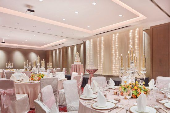 Banquet Style Layout in the Topaz Room at Sheraton Towers Singapore