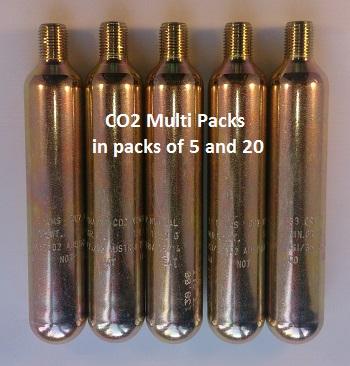Lifejacket CO2 Cylinder Multi Pack