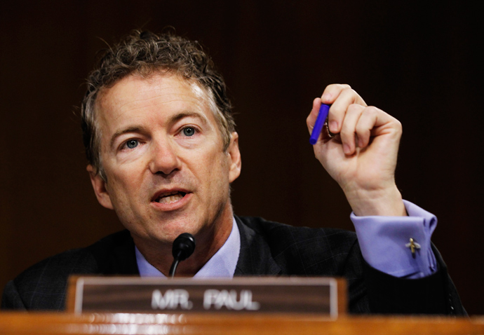 U.S. Senator Rand Paul (Reuters / Jason Reed)