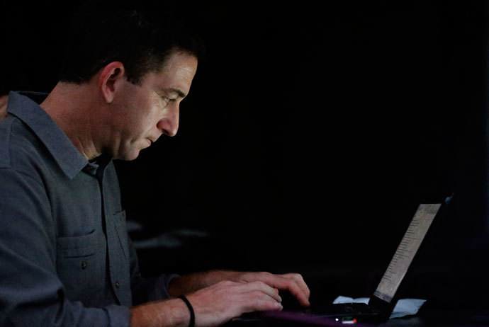 Glenn Greenwald, the blogger and journalist.(Reuters / Sergio Moraes)