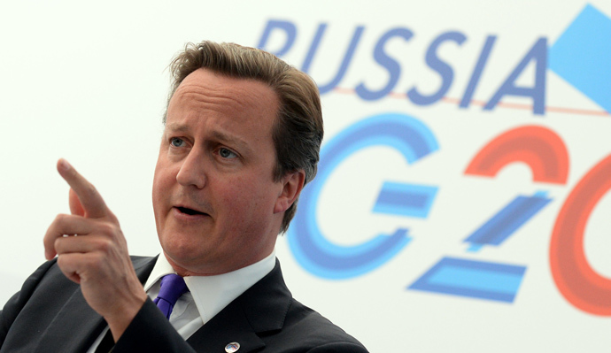 British Prime Minister David Cameron (AFP Photo / Yuri Kadobnov)