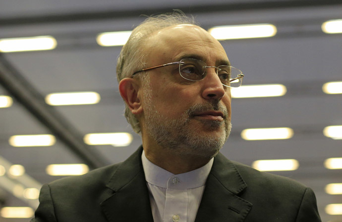 Ali Akbar Salehi (AFP Photo/Alexander Klein)