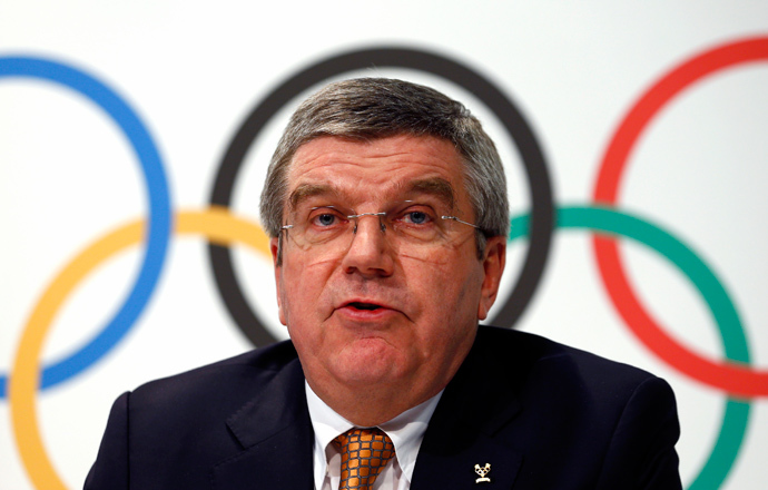 International Olympic Committee (IOC) President Thomas Bach (Reuters / Denis Balibouse)