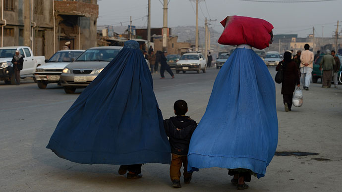 Afghan women.(AFP Photo / Shah Marai)