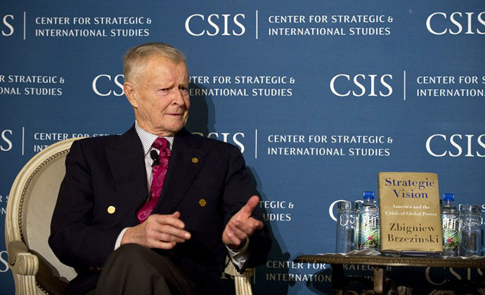 Author Dr. Zbigniew Brzezinski (AFP Photo / Jim Watson)
