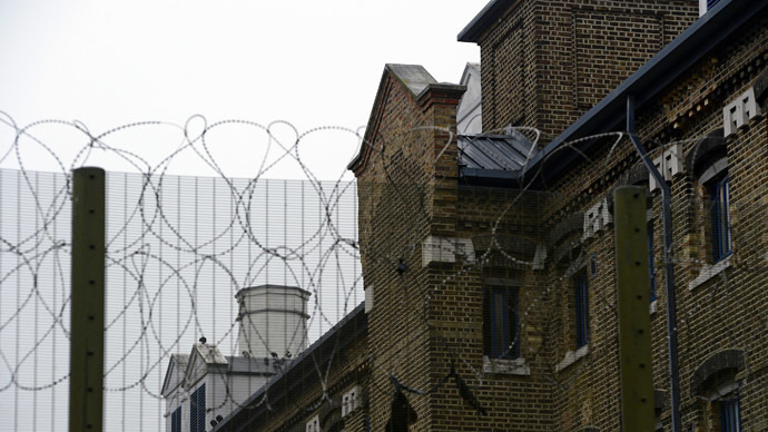 A general view shows a detail of Wormwood Scrubs prison in London (Reuters/Paul Hackett)