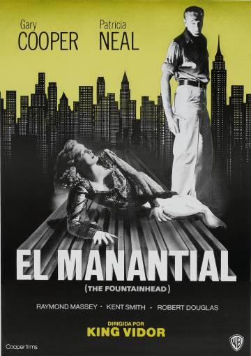 Ayn Rand escribió la novela que sirvió de base para el guión de 'El manantial'