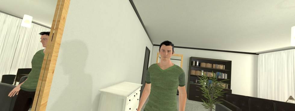 Recreación en el entorno de realidad virtual
