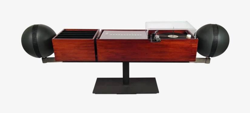 The Project G2 Stereo turntable, designed by Hugh Spencer for Clairtone in 1966.