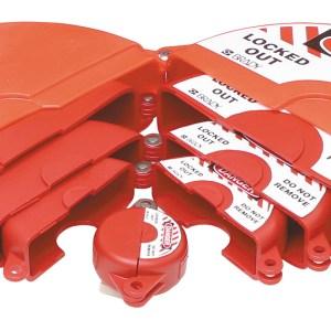 gate valve lockout set