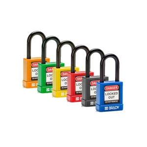 38mm safety security padlocks colour