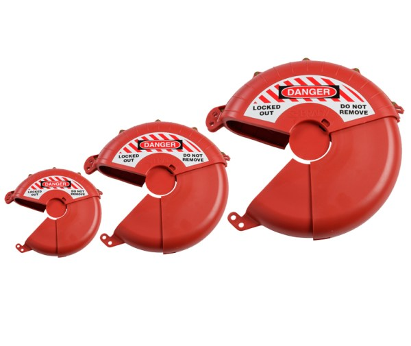 collapsible gate valve lockout 3 sizes