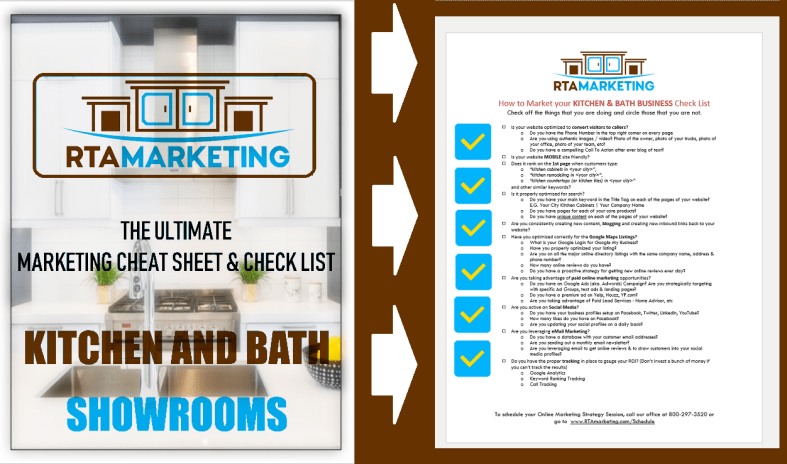 RTA Marketing Check List Coverpage