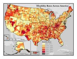 General Disability Rates