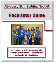Advocacy Toolkit Facilitator Guide cover