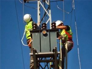 foto mantenimiento de Transformador rte