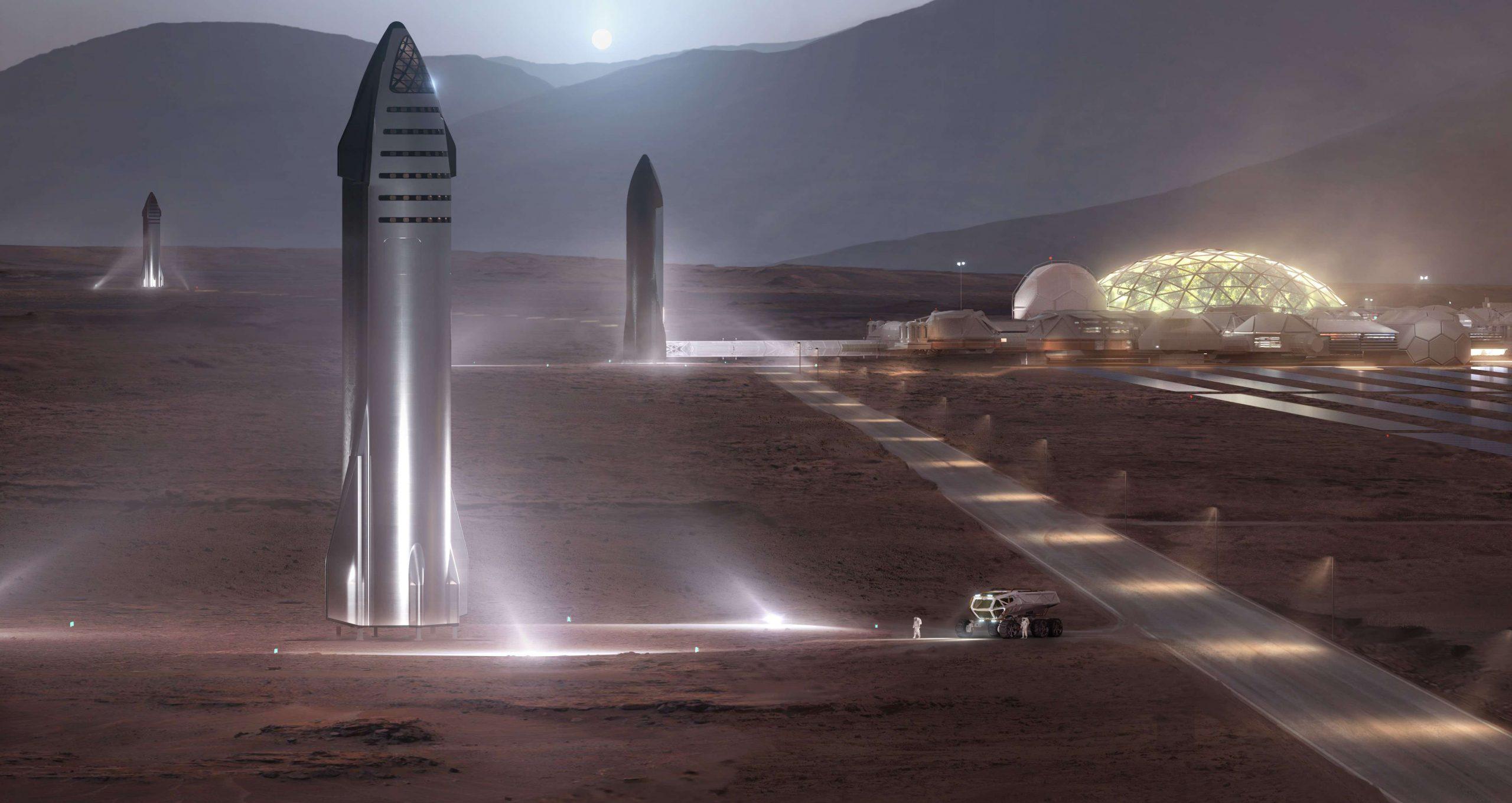 SPACE X INCREMENTA LA PRODUCCION DE LA STARSHIP PARA IR A MARTE