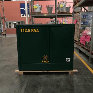 Transformador RTE ETKO 112.5 Kva Pedestal Trifasico 13200 220/127