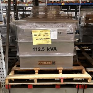 Transformador Trifasico Prolec 112.5 Kv Tipo Poste 13200v 220/127v