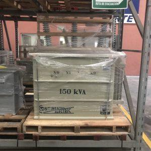 Transformador Tipo Poste Trifásico Continental Electric 150 KVA 13200 V