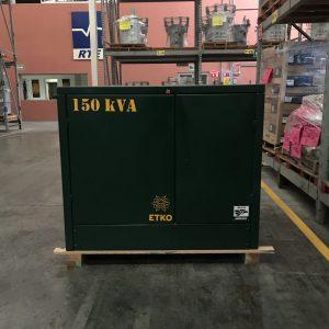Transformador RTE ETKO 150 Kva Pedestal Trifasico 13200 220/127