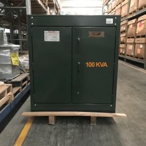 Transformador RTE DA 100 Kva Pedestal Monofasico 13200YT/7620 V 120/240V