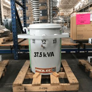 transformador 37 kva prolec