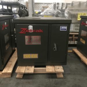 Transformador Zetrak 1500 KVA Trifasico 13200v 220/127