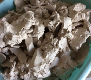 The reward of disorganisation: finding lots of expensive porcelain clay you forgot you had!
