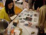 Untersetzer bedrucken auf dem Taiwan-Stand