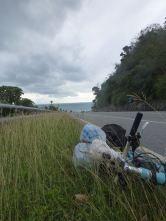 Außer Radfahrern kein Verkehr