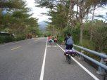 Extra Streifen für Fahrradfahrer