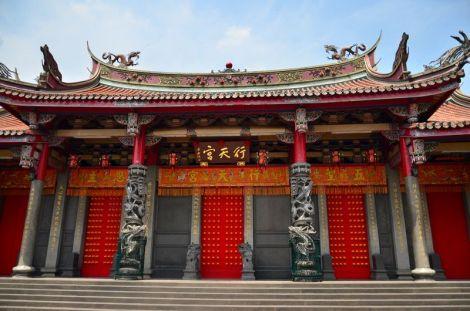 Le temple Hsingtien Gong de Taipei