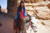 Daphnée à Pétra en Jordanie