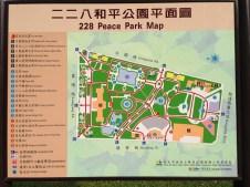 Plan du 228 Peace Park