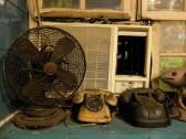 Ventilateur et téléphones à cadran