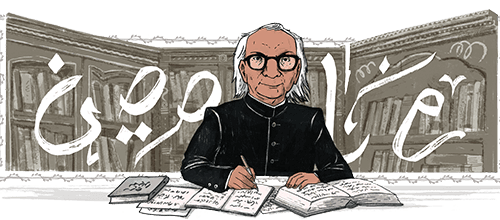 Who's Abdul Qavi Desnavi? Why Google Doodle for him?