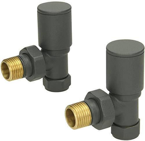 Sorento Black Angled Radiator valves