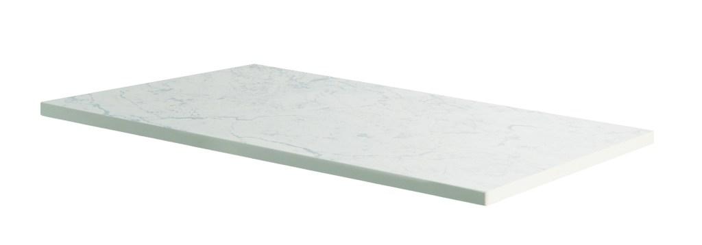600mm Claddagh Marble Counter Top White Quartz